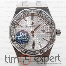 Audemars Piguet Ladies Royal Oak Diamonds Silver-Write