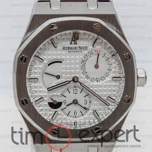Audemars Piguet Royal Oak Dual Time Silver/Write