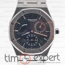 Audemars Piguet Royal Oak Dual Time Silver/Black