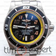 Breitling Superocean Yellow line