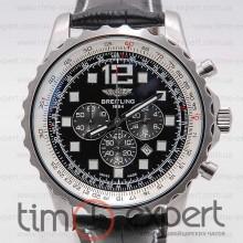 Breitling Navitimer Chronograph Silver-Black 44 ETA