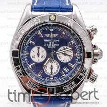 Breitling Chronomat Chronograph Silver-Blue (Citizen)