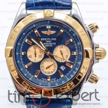 Breitling Chronomat Chronograph Gold-Blue (Citizen)