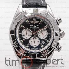Breitling Chronomat Chronograph Silver-Black  (Citizen)