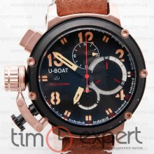 U-Boat Chimera Chronograph Black-Gold