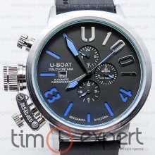 U-Boat Italo Fontana U-1001 Black/Silver/Blue