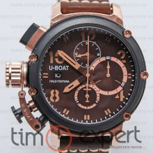 U-Boat Italo Fontana Chimera Chronograph Black-Brown-Gold
