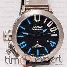 U-Boat Italo Fontana Classico U-1001 Black-Blue-Silver