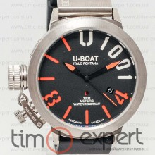 U-Boat Italo Fontana Classico U-1001 Black-Orange-Silver