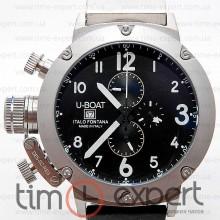 U-Boat Italo Fontana Chronograph Silver-Black