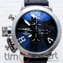 U-Boat Italo Fontana Classico Tungsteno Chronograph Silver-Black-Write
