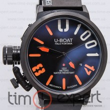 U-Boat Italo Fontana Classico U-1001 Write-Black-Orange
