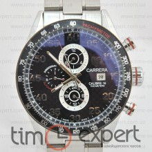 Tag Heuer Carrera Calibre 16 Black-Steel