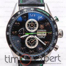 Tag Heuer Grand Carrera Calibre 16 Black-Green
