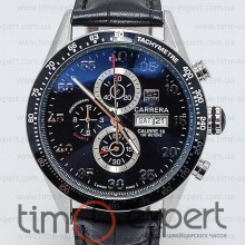 Tag Heuer Grand Carrera Calibre 16 Black-Silver