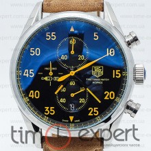 Tag Heuer Carrera 1887 SpaseX Silver-Yellow