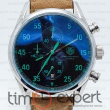 Tag Heuer Carrera 1887 SpaseX Silver-Green