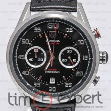 Tag Heuer Grand Carrera Calibre 36 Chronograph Silver-Black