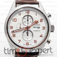 Tag Heuer Grand Carrera Calibre 16 Silver-Write