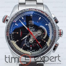 Tag Heuer Grand Carrera Calibre 36 Automatic Steel-Black