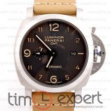 Panerai Luminor GMT Steel-Brown