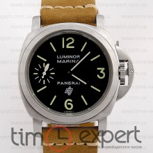 Panerai Luminor Marina Logo Steel-Black-Brown
