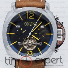 Panerai Luminor Marina Steel-Brown Turbillon