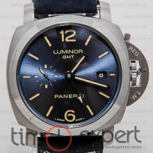 Panerai Luminor GMT Silver-Black Automatic