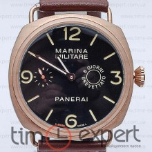 Panerai Marina Militare Gold-Brown