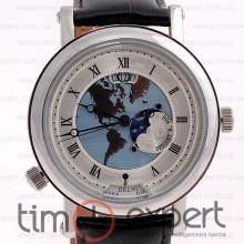 Breguet Classique Moonphase Silver-Write-Black