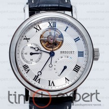 Breguet Classique Power Reserve Silver-Write-Black