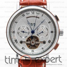 Breguet Tourbillon Silver-Brown