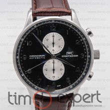 IWC Portuguese Chronograph Brown-Black