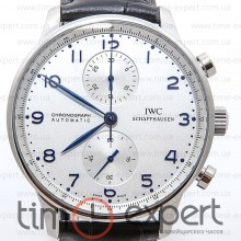 IWC Portuguese Chronograph Steel-Write