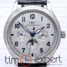 IWC Portuguese Hand-wound Silver-Blue