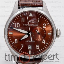 IWC Die Grosse Fliegeruhr Silver-Brown