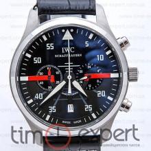 IWC Die Grosse Fliegeruhr Chronograph Silver-Black