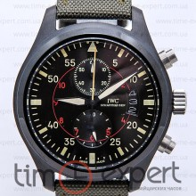 IWC Pilot Top Gun Chronograph Black