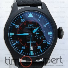 IWC Pilot Top Gun Black-Blue