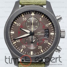 IWC Pilot Top Gun Chronograph Black-Green