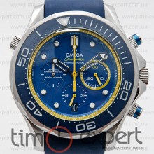 Omega Seamaster Chronograph Blue