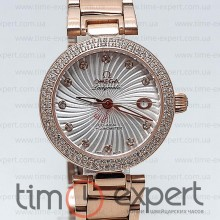 Omega Deville Ladymatic Gold-Write Diamond