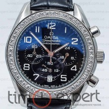 Omega De Ville Chronograph Diamond Black