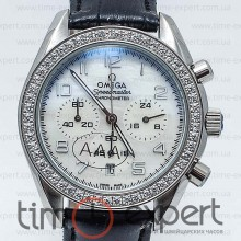 Omega Deville Ladymatic Chronograph Diamond Write