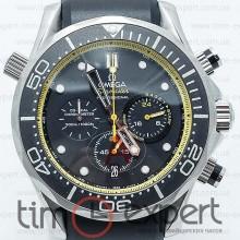 Omega Seamaster Chronograph Black-Yellow
