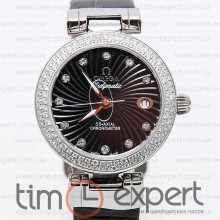 Omega Deville Ladymatic Black Diamond
