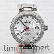 Omega Deville Ladymatic Write Diamond 35