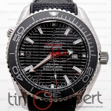 Omega Seamaster Co-Axial Silver Black