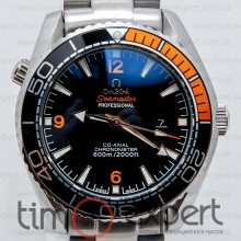 Omega Seamaster Co-Axial Black-Steel