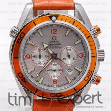 Omega Seamaster Planet Ocean Steel-Orange